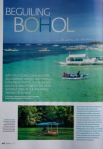 Article on Bohol for Green Living (We get a plug)